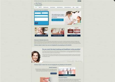 Westlake Dental Arts Website