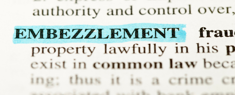 how to tell if employees are embezzling