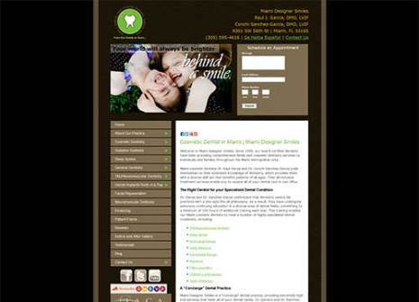 Miami Dental Website Design