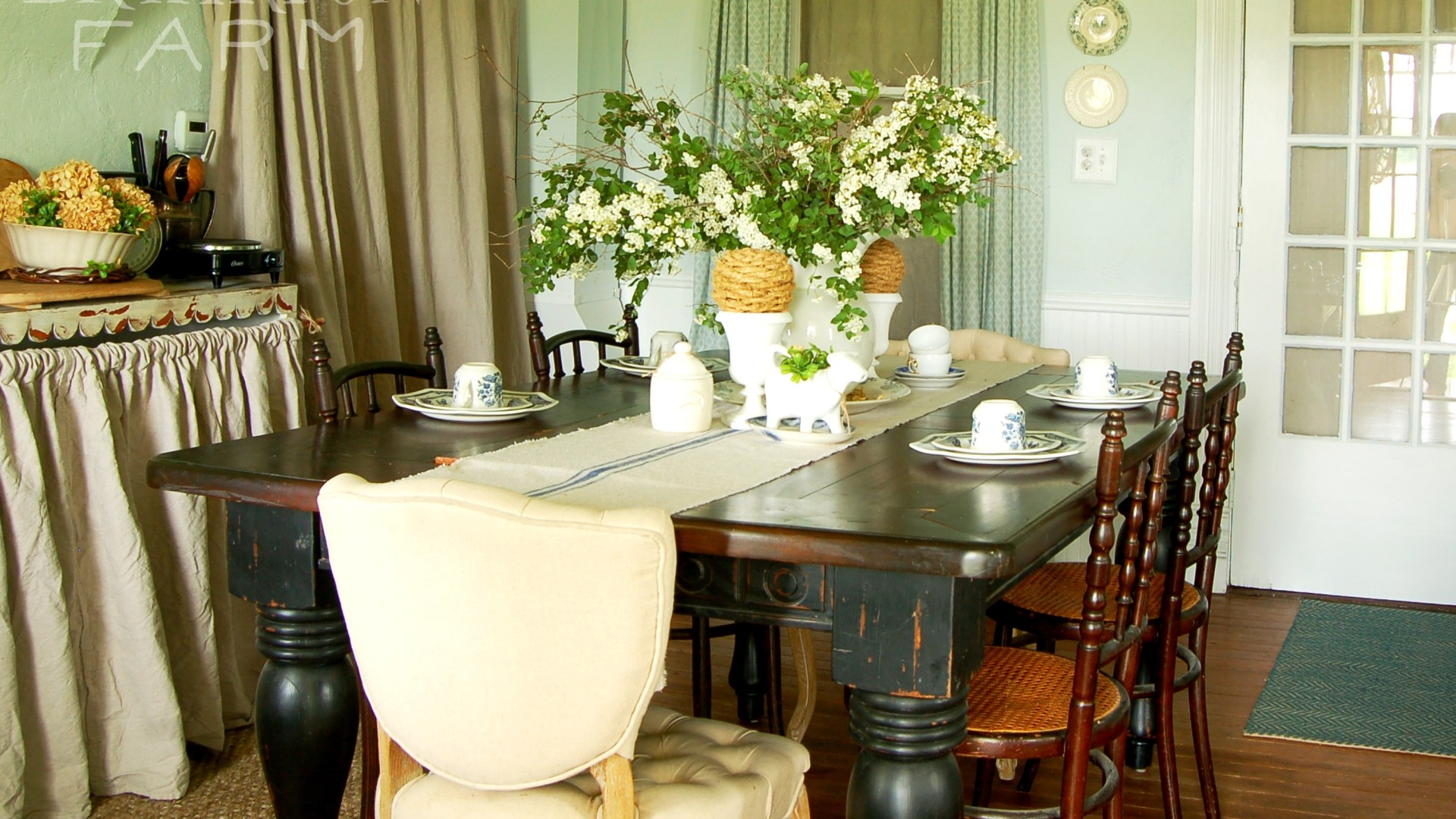 Our Spring Dining Room: Dining Room Spring Update