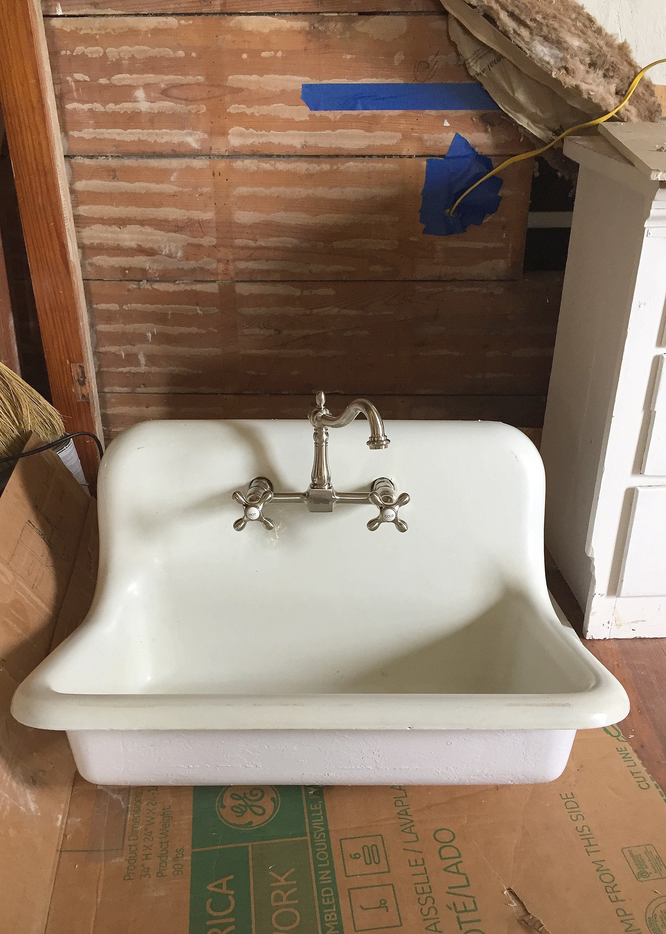 Antique Farm Sink Makeover Tips For Restoring An Old Sink On A Budget Bryarton Farm