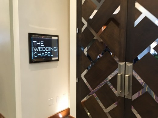 Aria wedding chapel