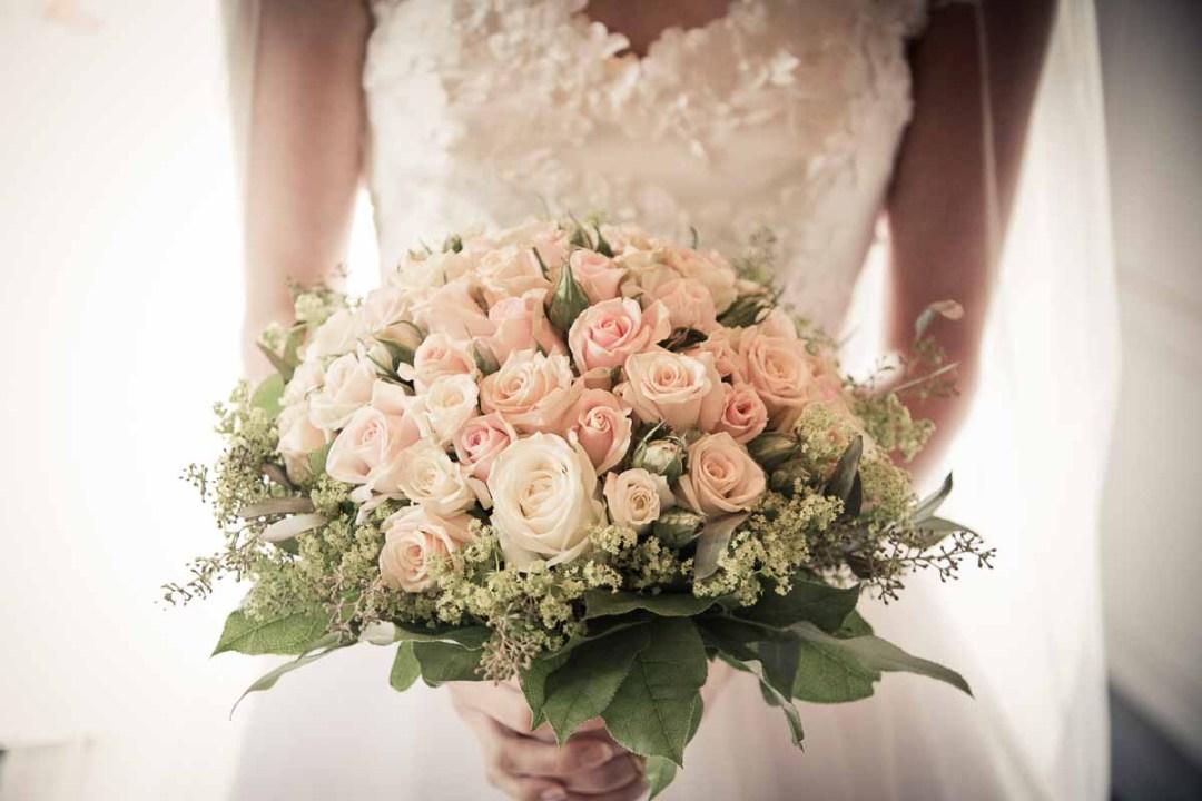 Alt i brudebuketter