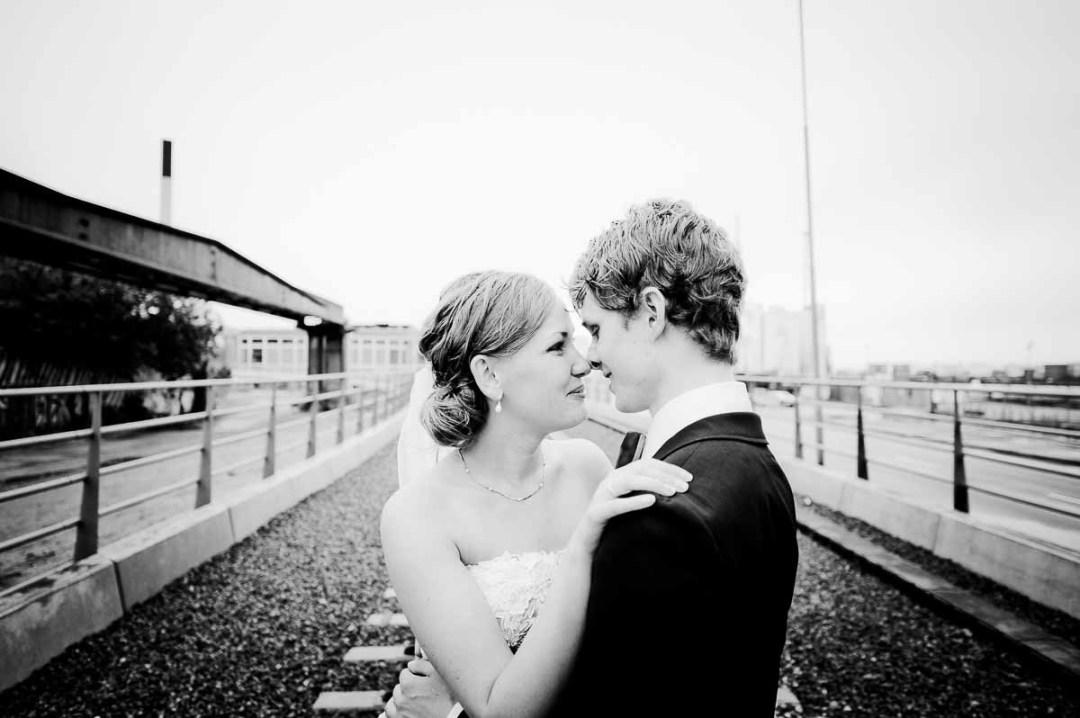 fotos fra bryllup på banegaard