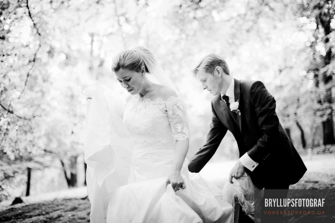 Bryllupsfotograf til den store dag