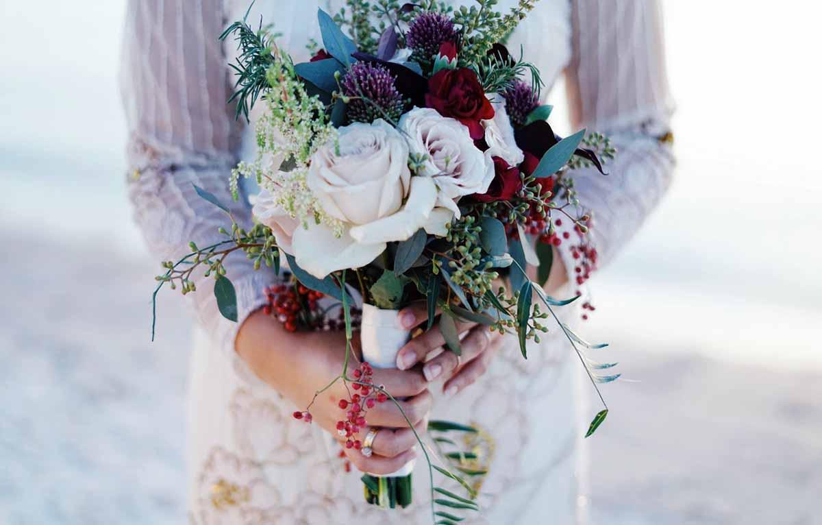 billig brudebuket