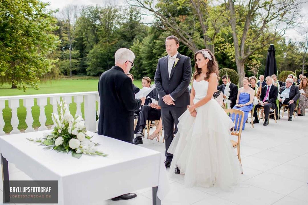 klassiske bryllupsportrætter