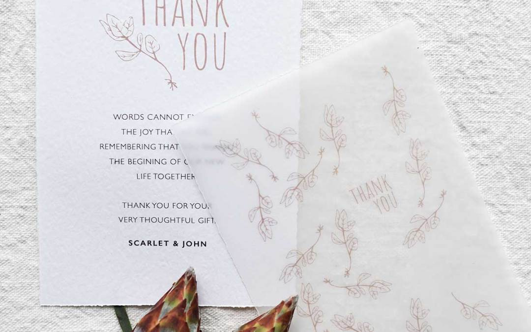 Bryllupsinvitationer og kort ved Diana Lovring