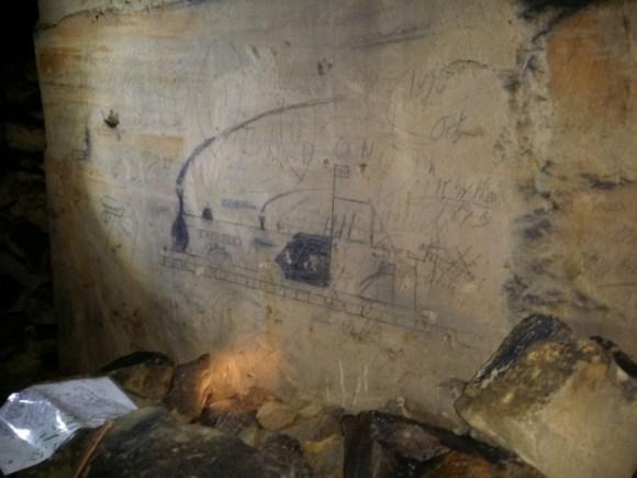 Miners Graffiti. Photo-Barry