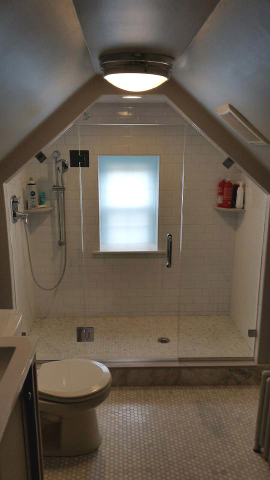 why choose a glass shower door over a