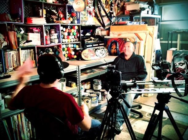 ABC ArtAtack Documentary Interview