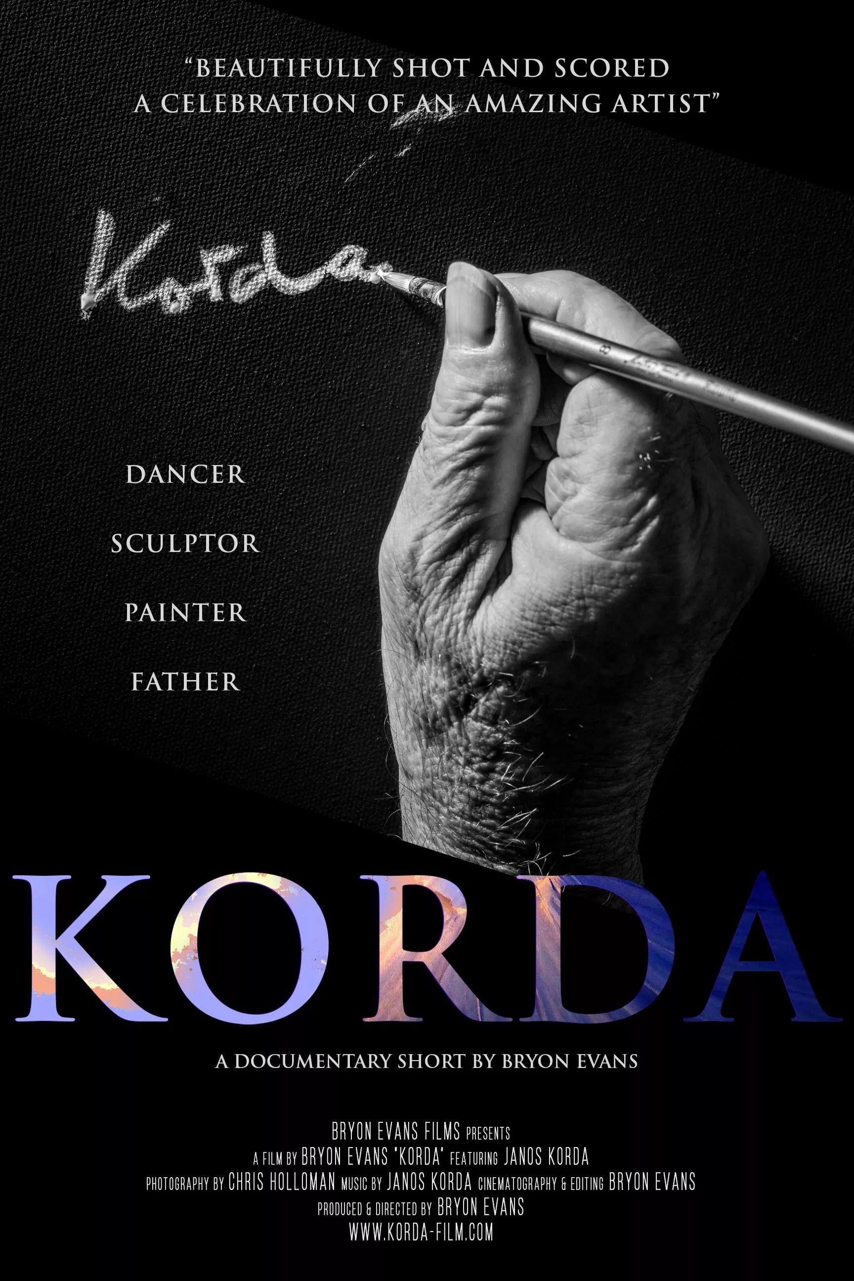 Korda Film Poster_Bryon Evans Films