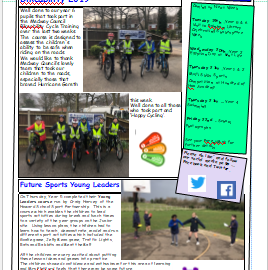 Weekly newsletter w/e 15th March 2019