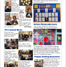 Weekly Newsletter w/e 13th November