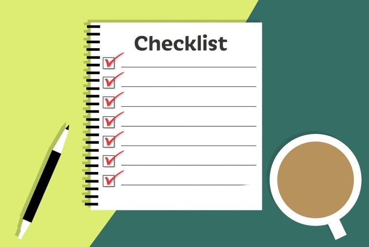Checkliste Illustration