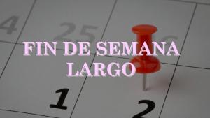 Feriados: Declaran Día no laborable el Viernes 27