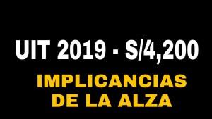 Los cambios más importantes para el 2019 en la SUNAT