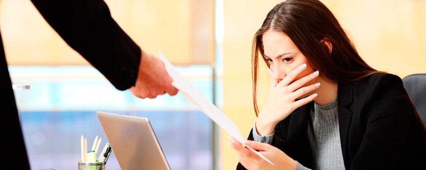 MINTRA: Como debes actuar ante un Despido Laboral.