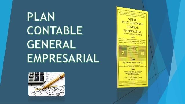 Nuevo Plan Contable General Empresarial 2019