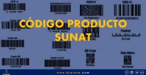 SUNAT: Qué es Código Producto y Como usar.