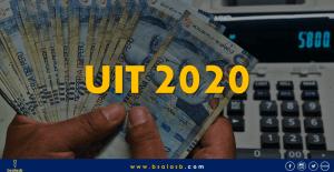 UIT 2020: Se incrementa en 100 soles y su aplicación.