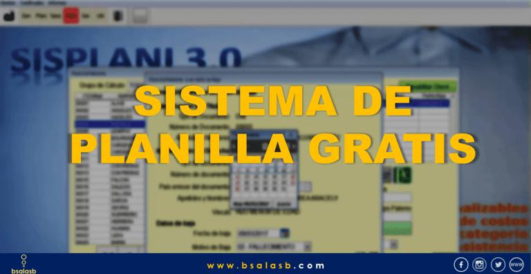 Lee más sobre el artículo Laboral: Sistema de planillas Gratis