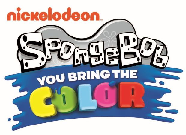 SpongeBob You Bring The Color Nickelodeon