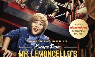Escape From Mr Lemoncellos Library Movie Poster