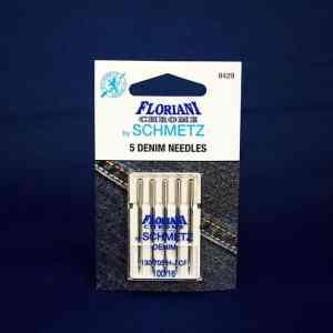 Floriani Chrome Denim Needles Size 100/16 (9429)