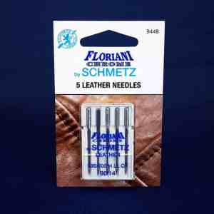 Floriani Chrome Leather Needles Size 90/14 (9448)