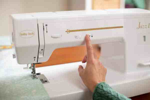 Baby Lock Jazz II 12-inch Quilting and Sewing Machine - Programmable Needle Up/Down