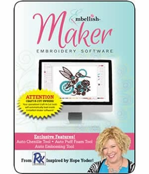 Embellish Maker Embroidery and Crafting Software