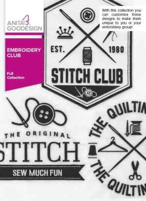 Anita Goodesign Embroidery Club Collection (AG-ECLUB)