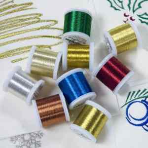 Madeira Metallic No. 40, Metallic Embroidery & Quilting Thread - 220 yd/200 m