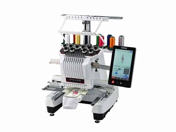 Brother PR1050X 10-Needle Home Embroidery Machine