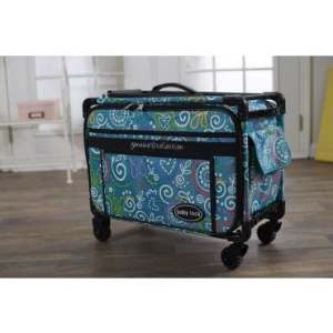 Baby Lock Genuine Collection Large Machine Trolley on Wheels - Blue