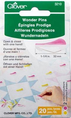 Clover Wonder Pins 20 pcs