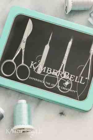KimberBell Deluxe Embroidery Scissors & Tools KDTL104