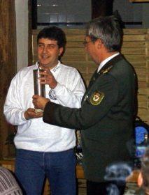 Preis- und Pokalschießen 2002: Gewinner des Feuerwehr-Pokals