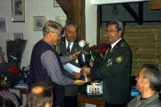Preis- und Pokalschießen: Vereinsmeister 2002