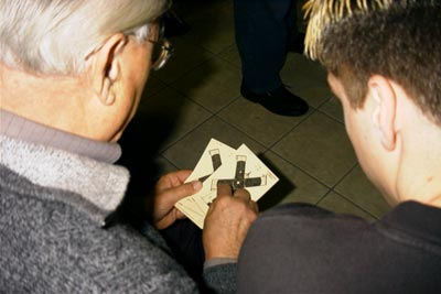 Preis- und Pokalschießen 2002: Schießen auf Windmühlen