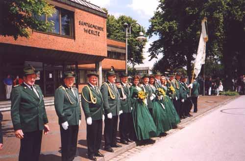 Schützenfest 1997: Antreten in Werlte