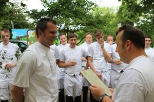 Schützenfest 2012: Bunter Nachmittag: Der Hauptmann hat Geburtstag