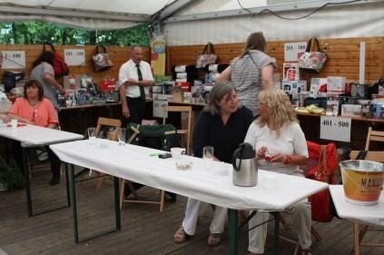 Schützenfest 2012: Bunter Nachmittag: Große Tombola