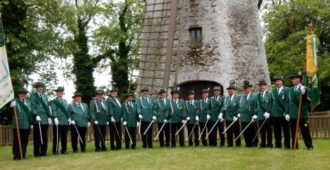 Gruppenfoto der Offiziere (Mai 2015)