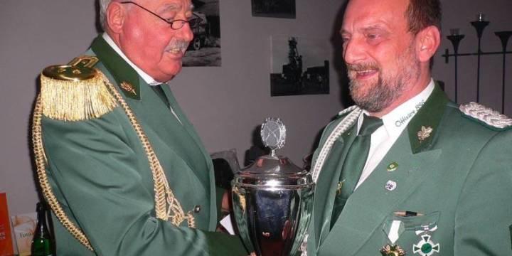 Rudolf Steegmann holt den BSG- Vereinspokal: Vereinsmeister 2015