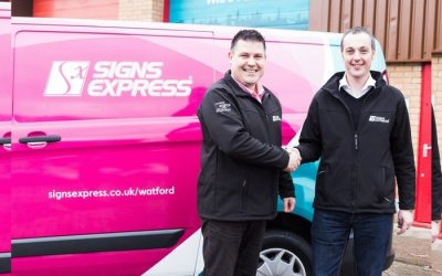 Market Leading Sign Company Launches in Watford