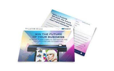 Win the TrueVIS SG-540 at Sign & Digital UK