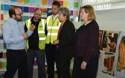 Octink welcomes visit from UK Prime Minister