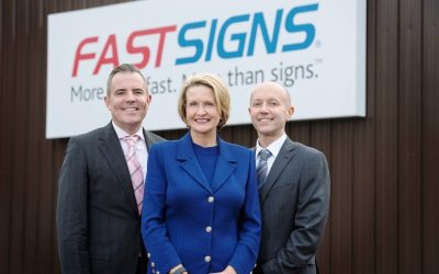 MANCHESTER SIGNAGE FRANCHISE GOES FROM STRENGTH TO STRENGTH